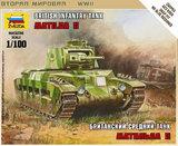 Zvezda 1/100 British Matilda II Infantry Tank