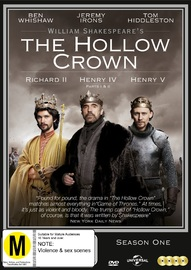 The Hollow Crown: Series 1 on DVD