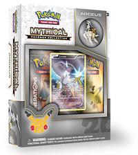 Pokemon TCG Mythical Pokemon Collection - Arceus Pin Box