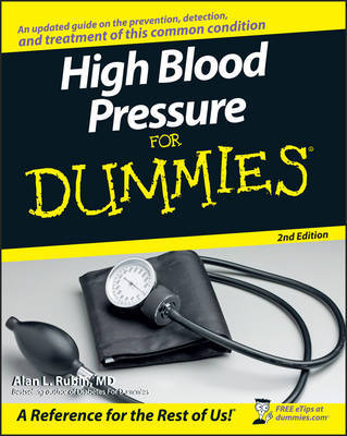 High Blood Pressure for Dummies by Alan L. Rubin image