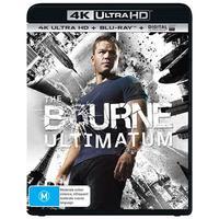 The Bourne Ultimatum on Blu-ray, UHD Blu-ray