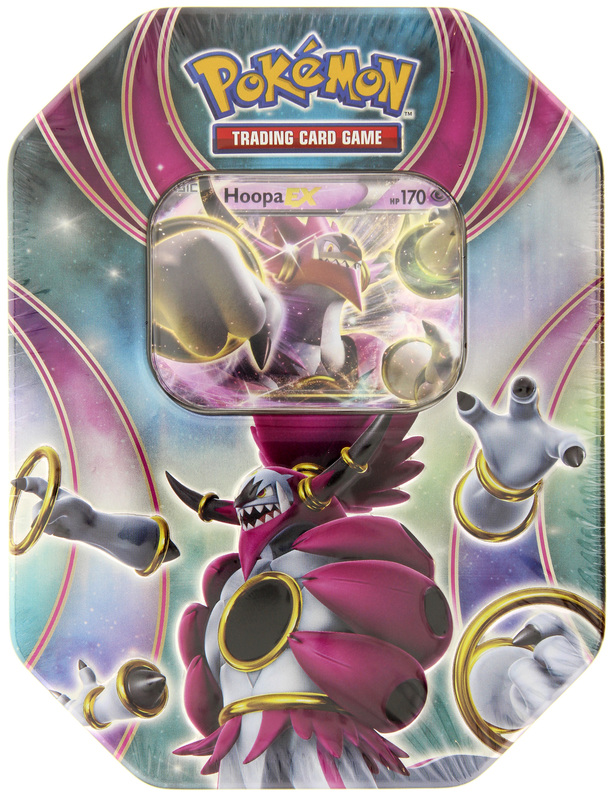 Pokemon TCG Hoopa EX Tin