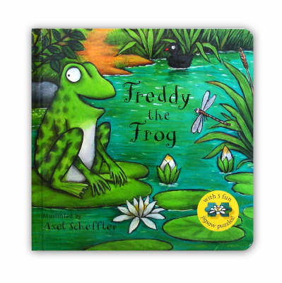 Freddy the Frog Jigsaw Book