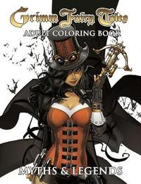 Grimm Fairy Tales Adult Coloring Book Myths & Legends by Zenescope