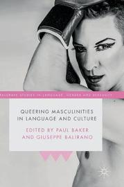 Queering Masculinities in Language and Culture image