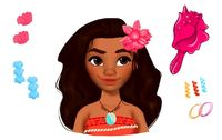 Disney: Hair Styling Head - Moana