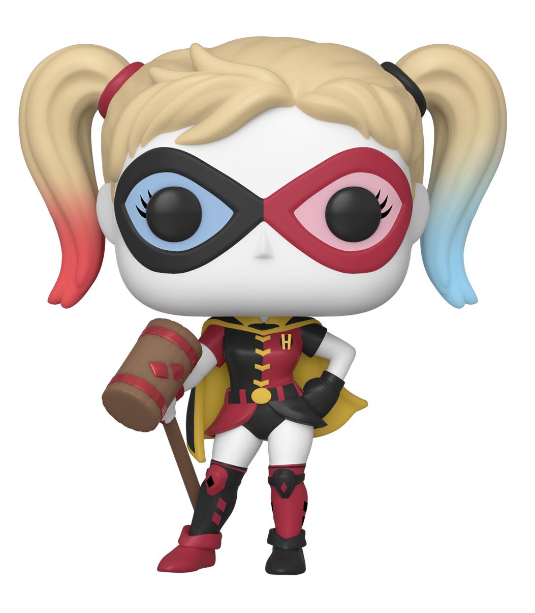 DC Rebirth - Harley Quinn (as Robin) Pop! Vinyl Figure image