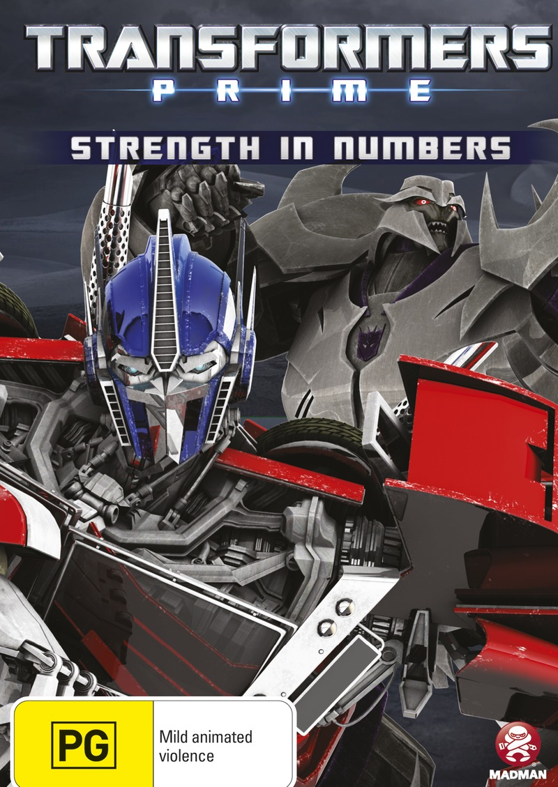Transformers: Prime (Volume 4) - Strength in Numbers on DVD image