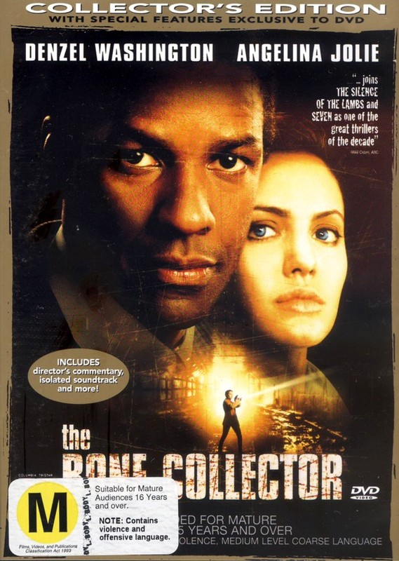 The Bone Collector on DVD
