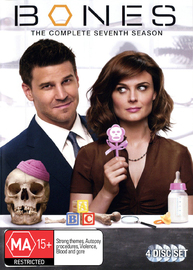 Bones - The Complete Seventh Season on DVD