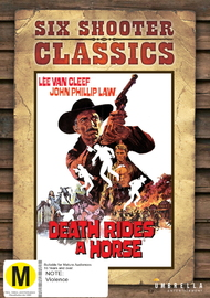 Six Shooter Classics - Death Rides A Horse on DVD