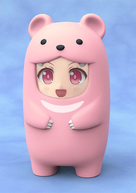 Nendoroid More: Face Parts Case - Pink Bear