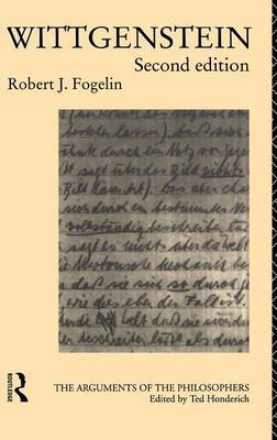 Wittgenstein by Robert J Fogelin image