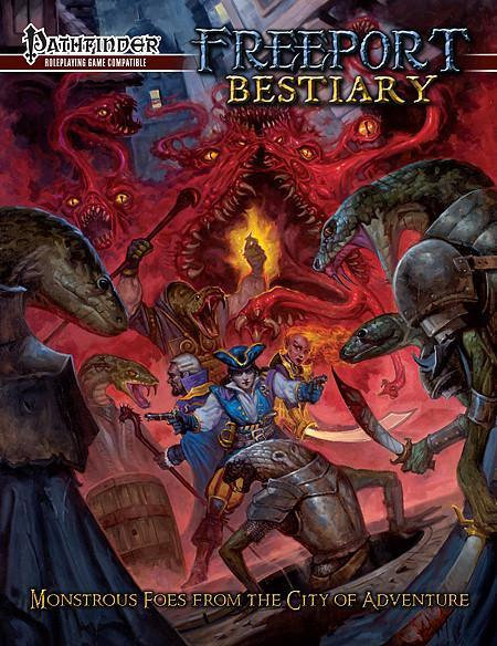 Pathfinder RPG: Freeport Bestiary - Source-book by Sam Hing image