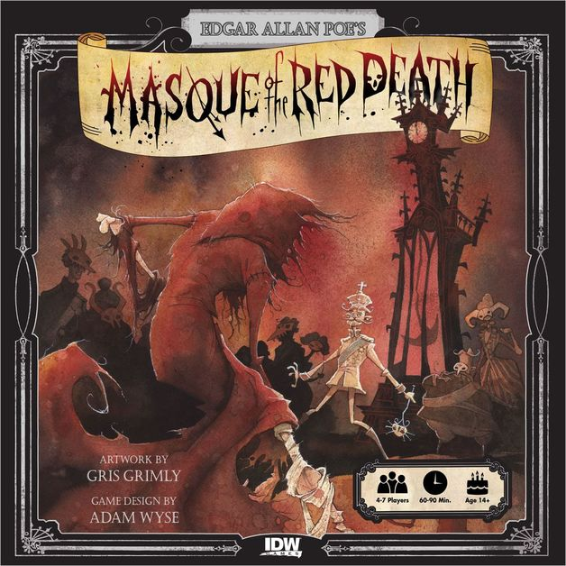 Masque of the Red Death - Board Game