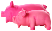 Pawise - Pink Latex Pig - Large