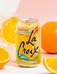 La Croix Sparkling Water Orange 355ml Cans