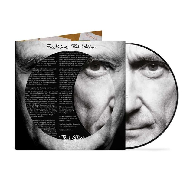 Face Value (Picture Disc) by Phil Collins