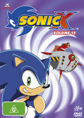 Sonic X - Volume 15 on DVD