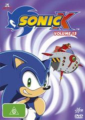 Sonic X - Volume 15 on DVD