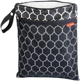 Skip Hop Grab And Go Wet/Dry bag-Onyx Tile