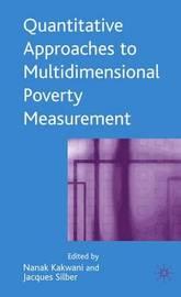 Quantitative Approaches to Multidimensional Poverty Measurement image