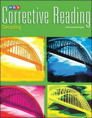 Corrective Reading Decoding Level B1, Workbook by McGraw Hill