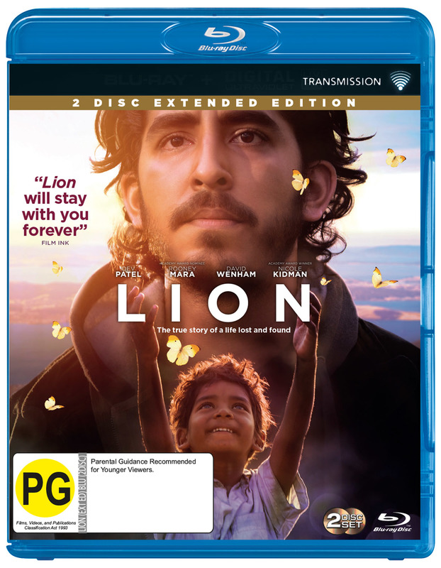 Lion on Blu-ray