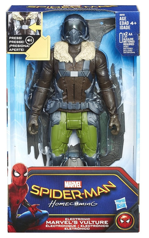 Spiderman Movie: Vulture - Titan Hero Series Electronic Villain