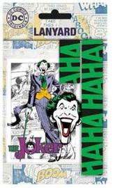 DC Comics: Lanyard with Rubber Keychain - Joker