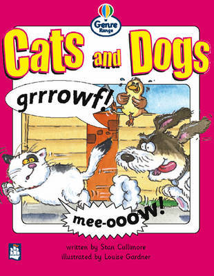 Cats and Dogs Genre Beginner stage Comics Book 1 by Stan Cullimore