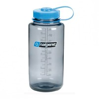 Nalgene 1.0L Wide Mouth Tritan Bottle (Grey)