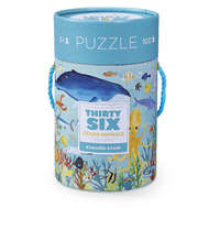 Crocodile Creek: 36 Animal Puzzle - Ocean Animals (100pc)