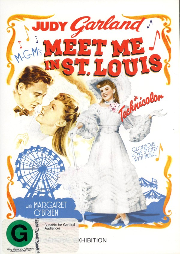 Meet Me In St Louis on DVD image