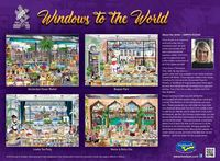 Holdson: 1,000 Piece Puzzle - Windows of the World (London Tea Party) image