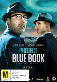Project Blue Book Season 1 on DVD image