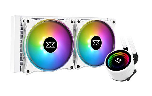 240mm Xigmatek Aurora Arctic 240 White ARGB AIO CPU Cooler