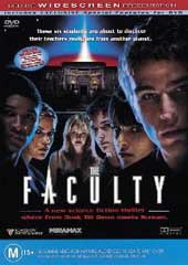 The Faculty on DVD