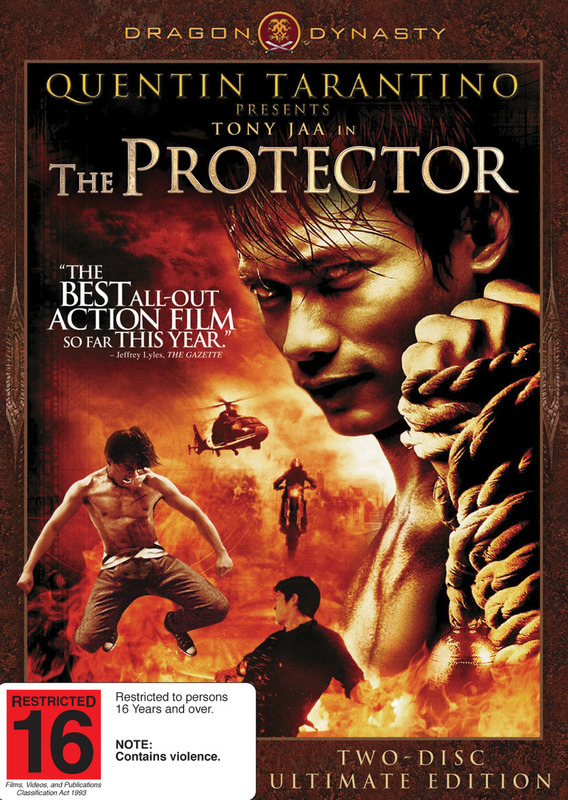 Dragon Dynasty: The Protector (AKA Tom Yumo Goong) on DVD