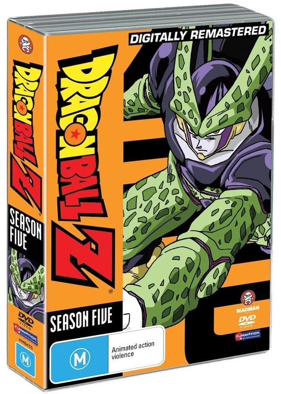 Dragon Ball Z - Season 5 on DVD