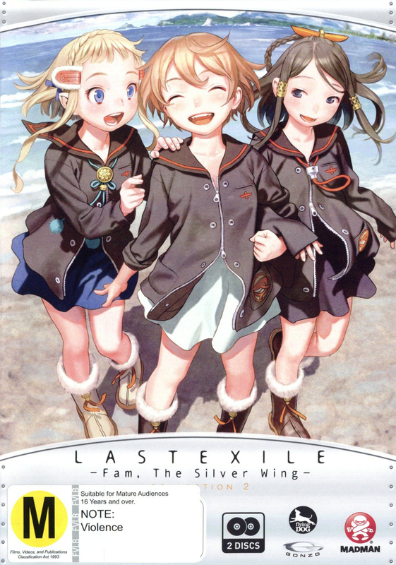 Last Exile: Fam, The Silver Wing - Collection 2 on DVD