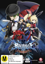 Blazblue: Alter Memory Series Collection on DVD image