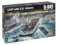 Italeri: 1:35 LCVP With US Infantry - Model Kit