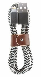 Native Union: Belt Cable - Lightning 1.2M (Zebra)