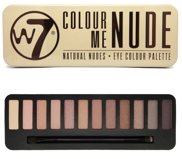 W7 Colour Me Nude (In The Nude) Compact