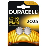 Duracell Button Cell 2025 2pk