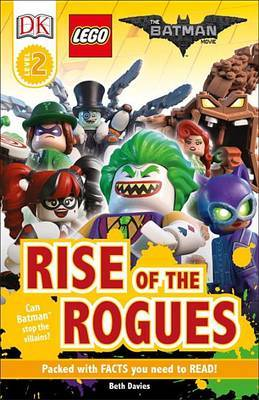 DK Readers L2: The Lego(r) Batman Movie Rise of the Rogues by DK image
