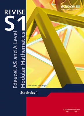 Revise Edexcel AS and A Level Modular Mathematics Statistics 1 by Keith Pledger image