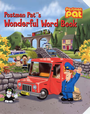 Postman Pat's Wonderful Word Book image