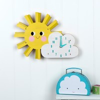 Wall Clock - Sunshine